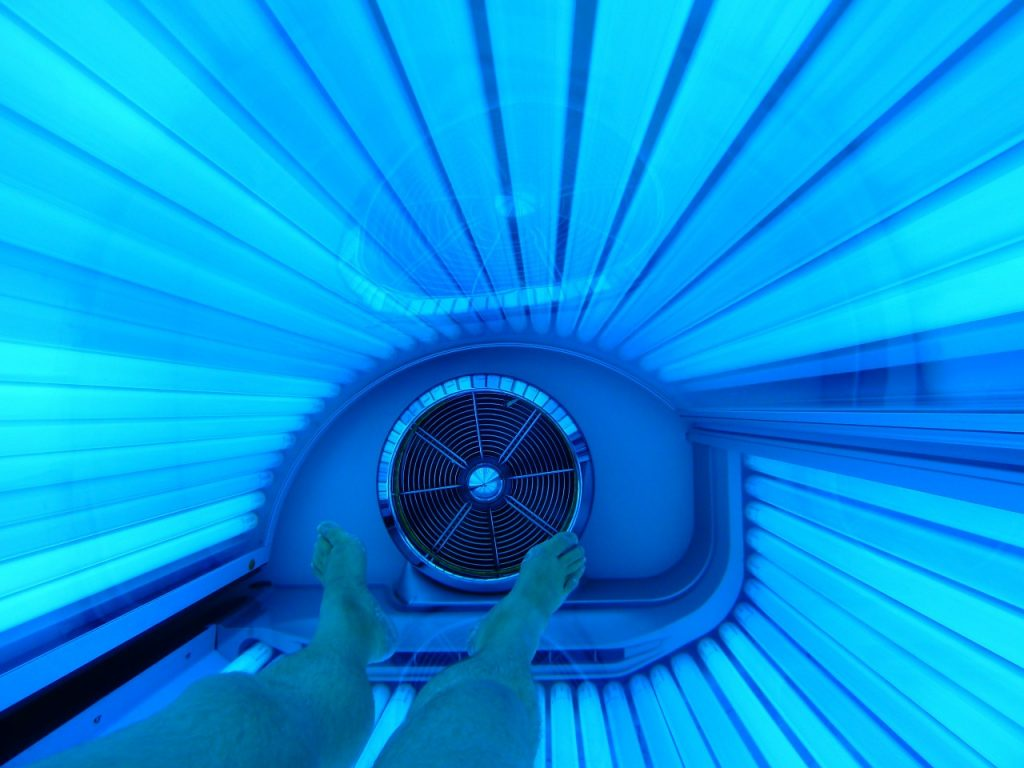 Tanning bed electrical hookup